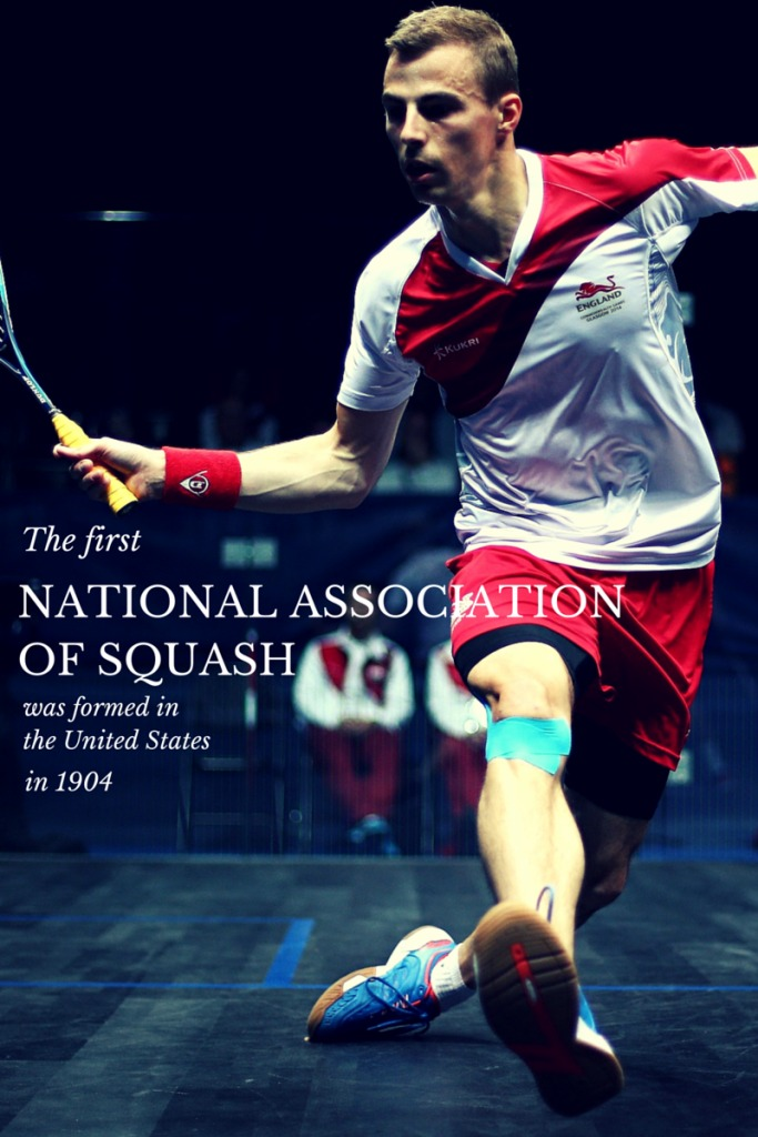 The first national association of squash was formed in the United States in 1904
