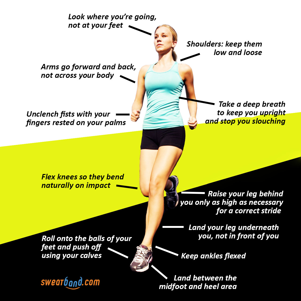 Running guide - running technique