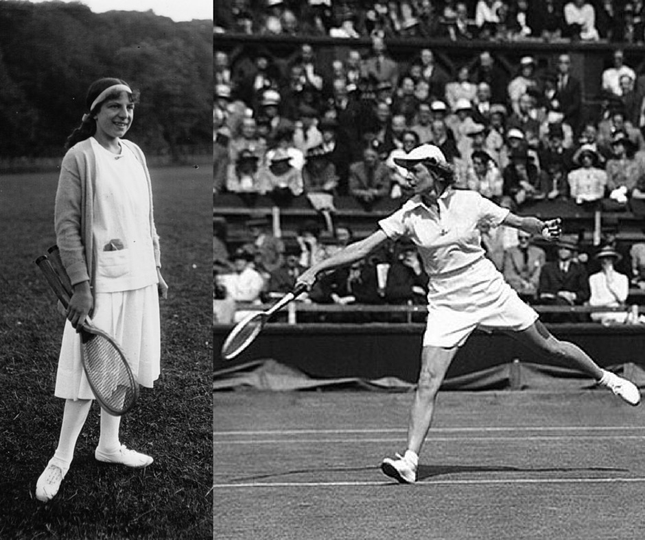 Suzanne Lenglen and Alice Marble tennis fashion revolution