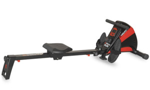 Magnetic resistance rowing machine