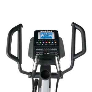 elliptical cross trainer console