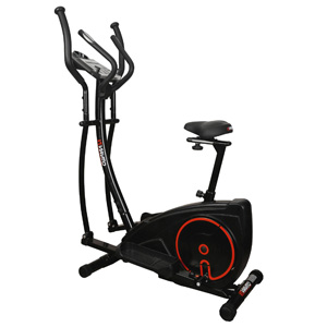 elliptical cross trainer exercise bike 2 in 1
