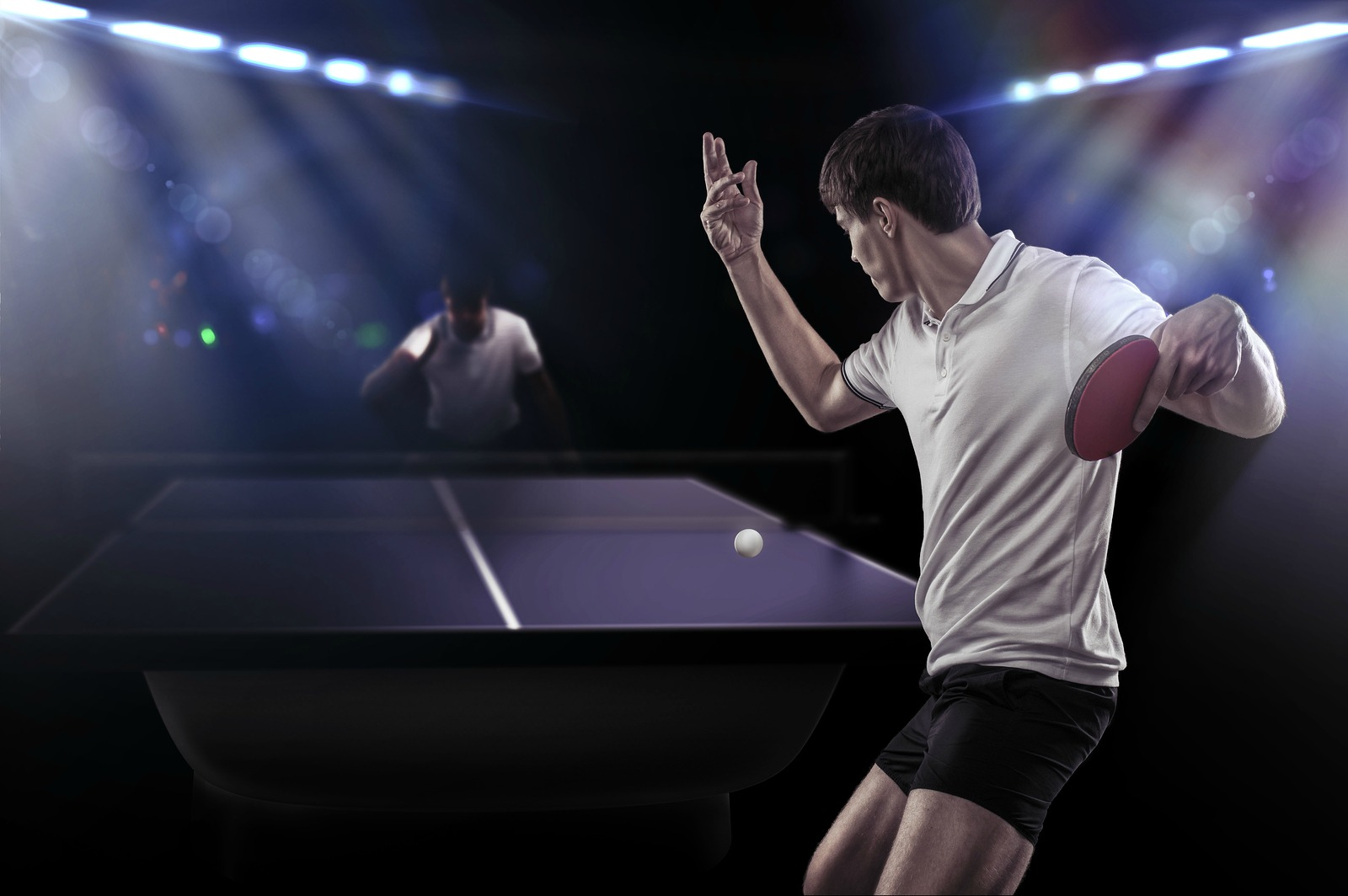 10 effective ways to get better at table tennis - Serving in table tennis rules ...