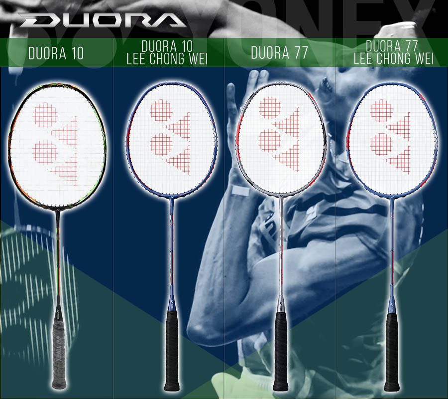 Duora Yonex badminton racket buying guide