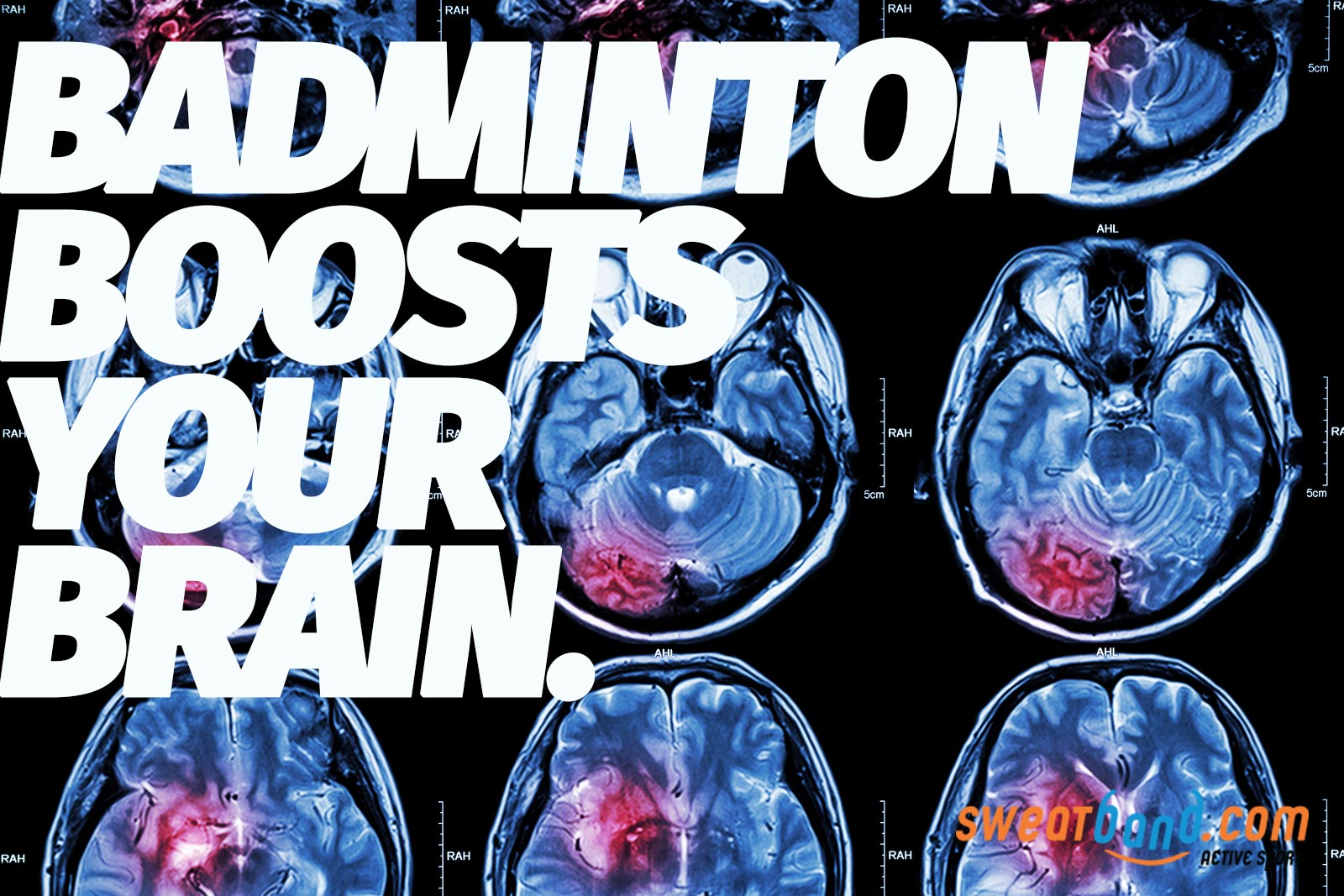 Playing badminton can give your brain a workout too!