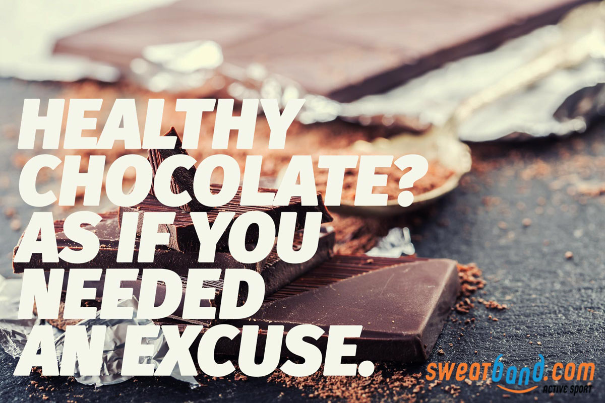 Healthy chocolate? As if you need an excuse.