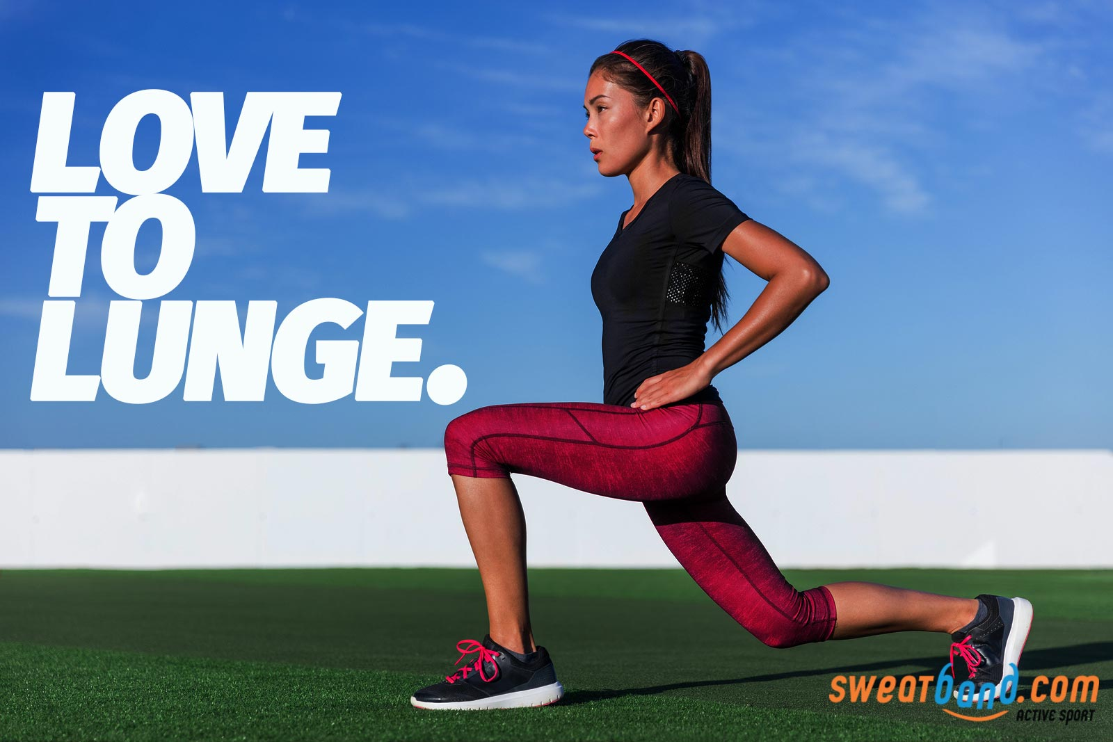 Love to lunge? Your glutes love you lunging too!