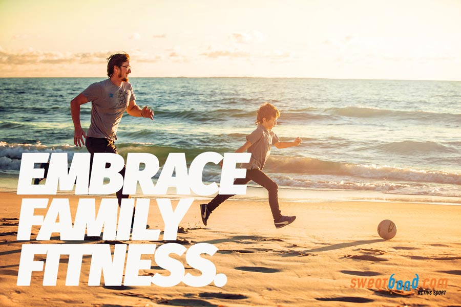 Embrace family fitness this summer - have fun, bond and get fitter together!