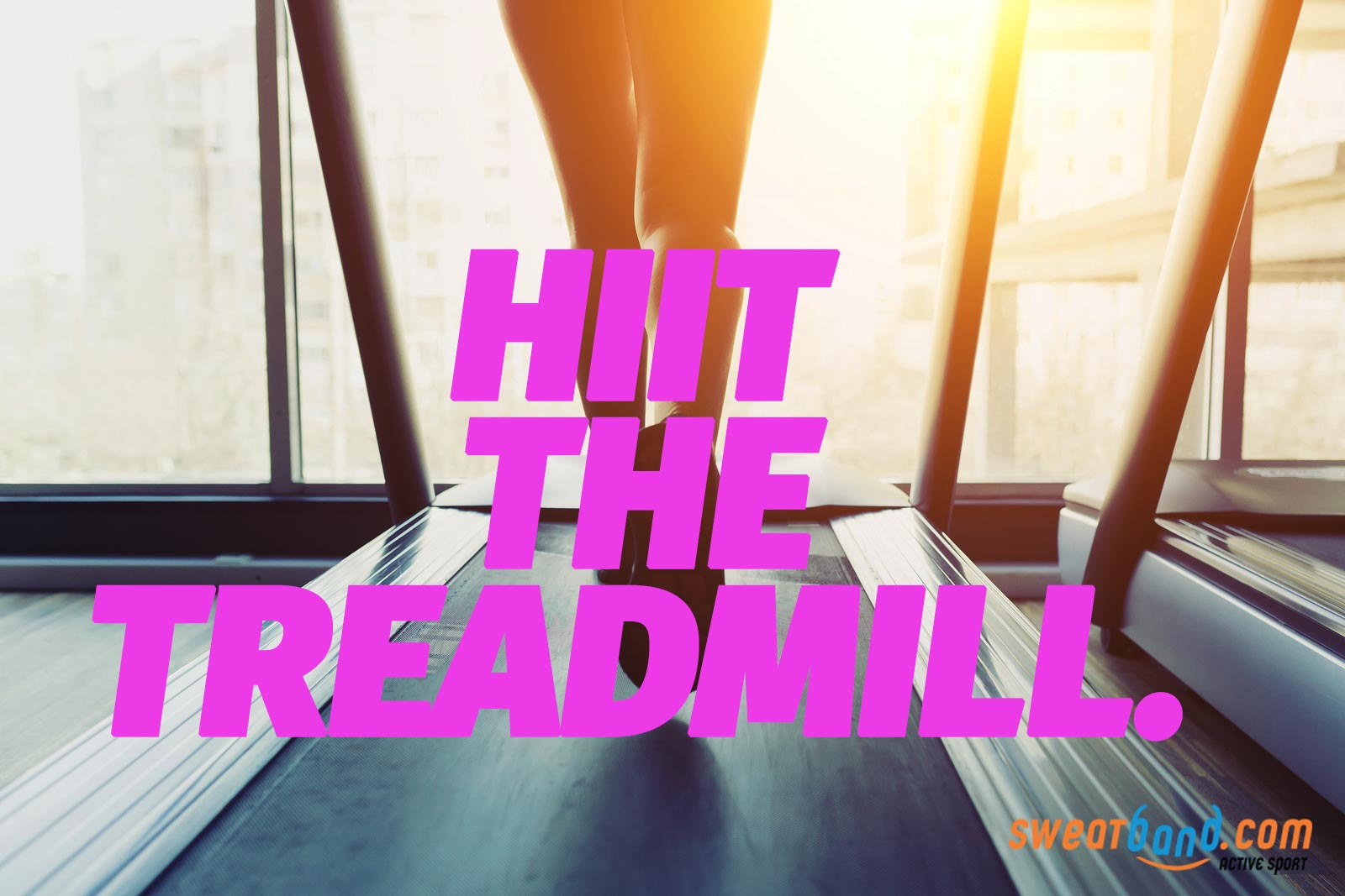 Hiit the treadmill with an intense workout