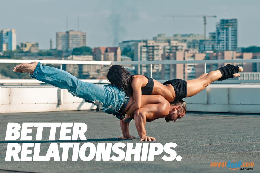 Use Yoga to bond and improve relationships and friendships