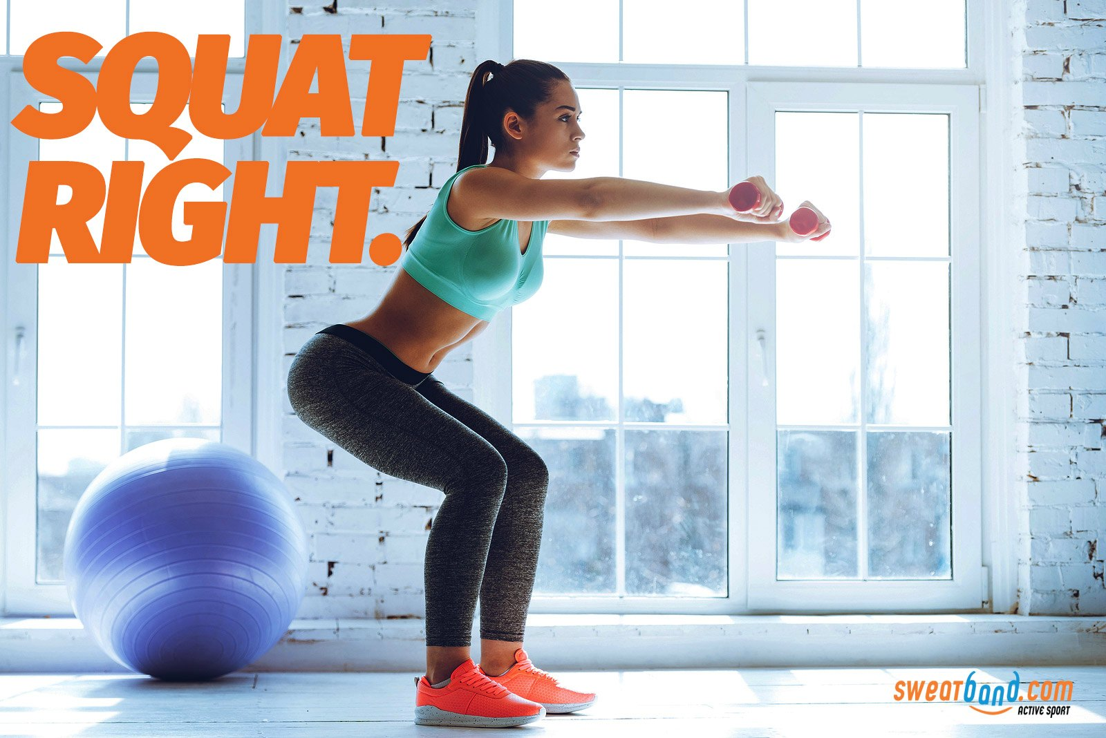 Make sure to perform squats correctly to strengthen your knees and prevent a knee injury