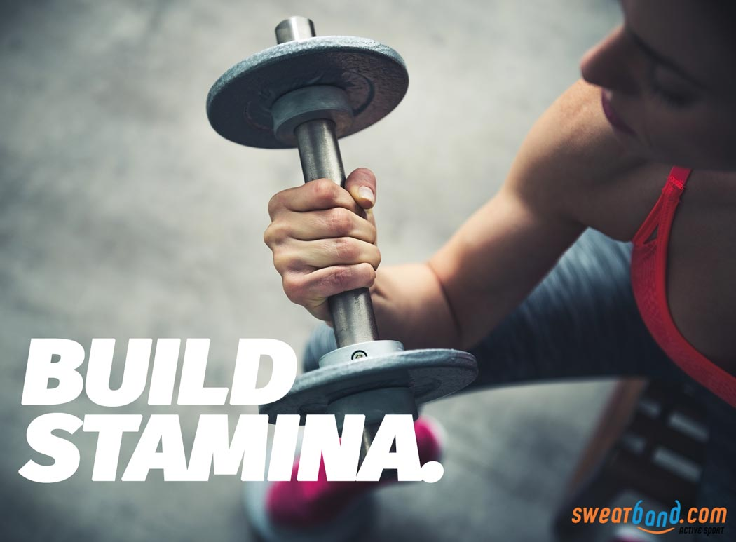 Use weights to improve your stamina