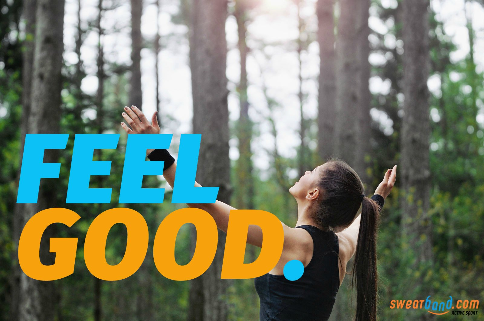 Try taking your workout outdoors to help your mind and body feel good