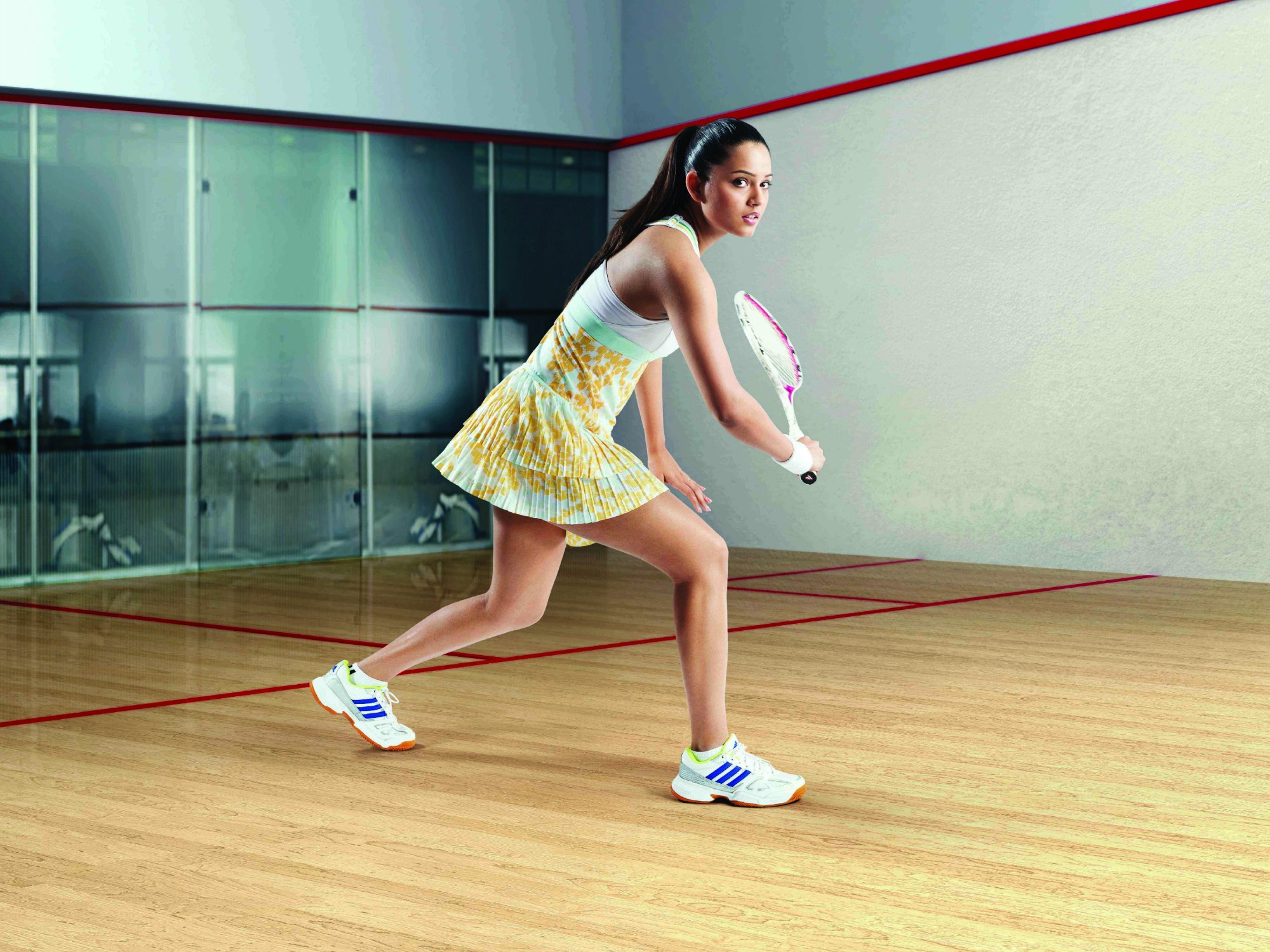 Indian Squash Poster Girl Fighting For Equality