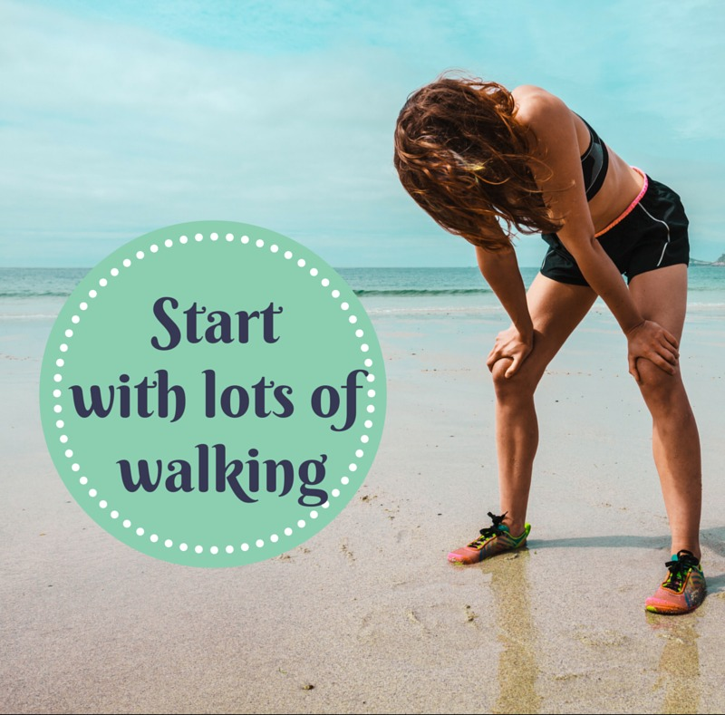 An Absolute Beginner? Start with lots of walking.