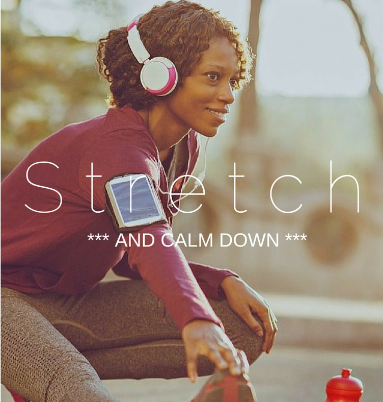 Stretching relieve stress and calm you down