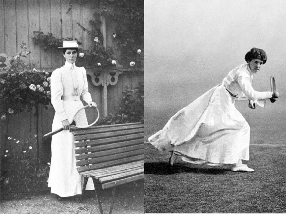 tennis fashion history