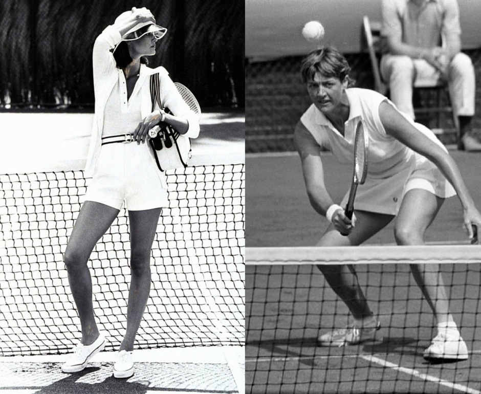 1970s women's tennis fashion