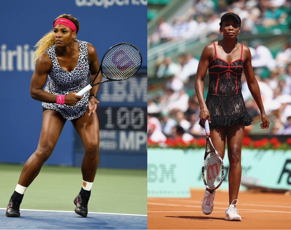 Williams' sisters tennis fashion
