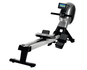 Air magnetic resistance rowing machine