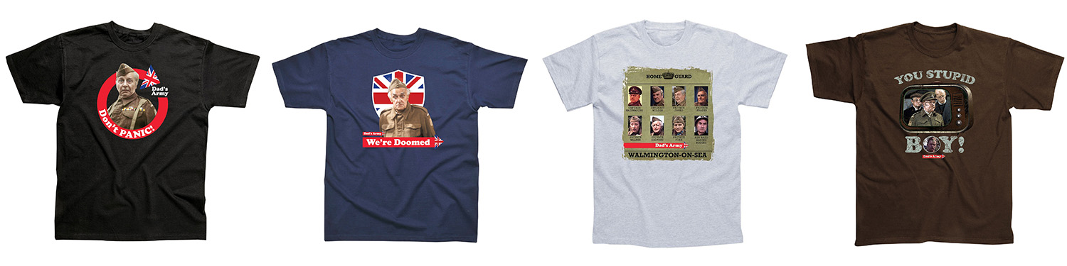 dads army t-shirts