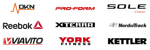elliptical cross trainer logos