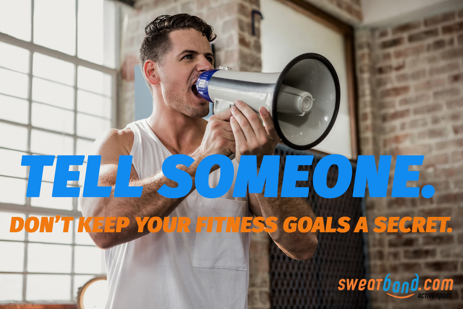 Fitness resolutions - tell somone