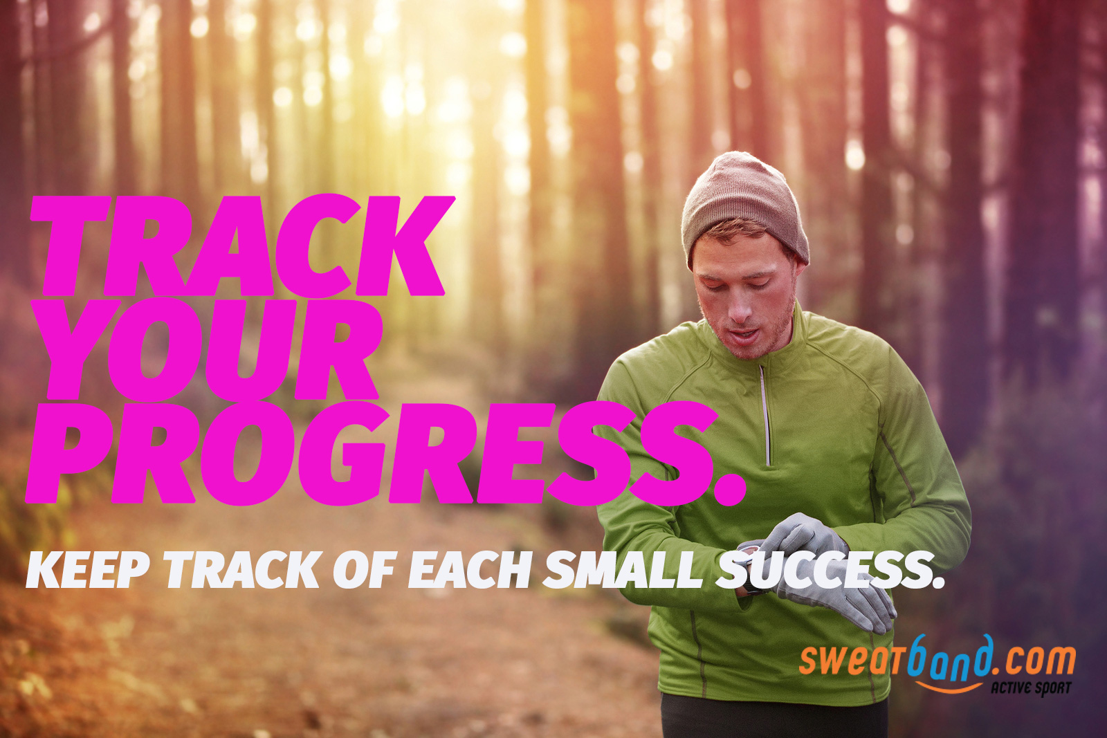 Fitness resolutions - track your progress