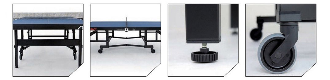 Stiga table tennis table features