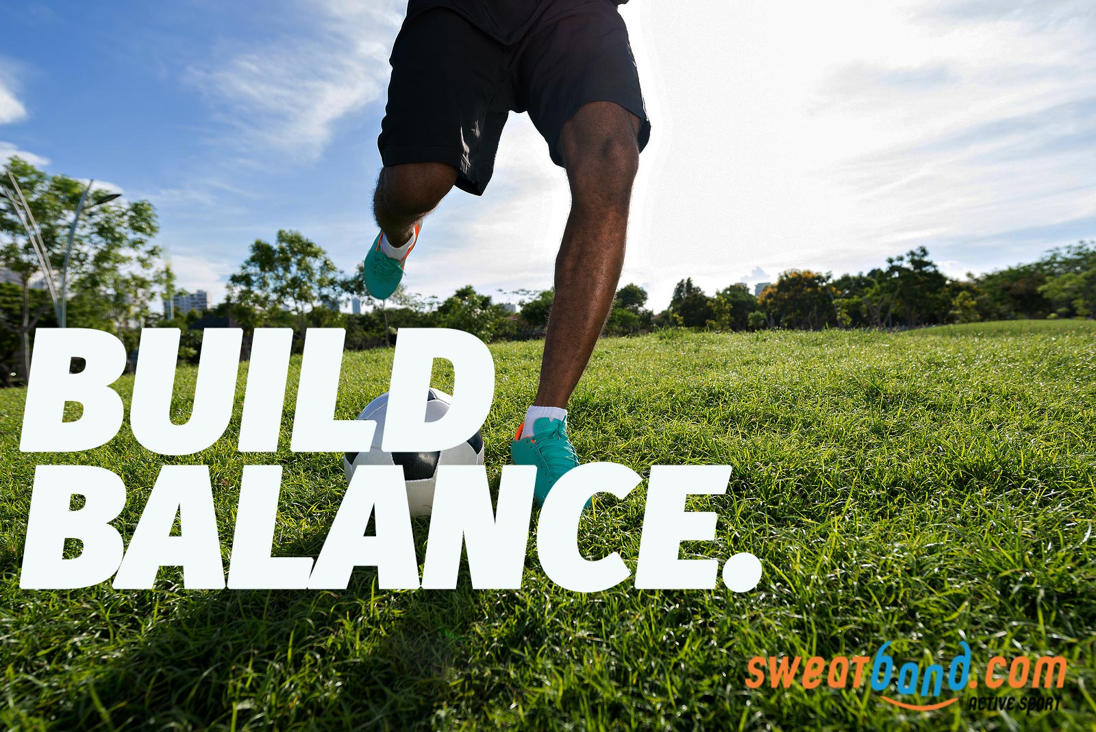 Build your balance up to improve your on-field skills