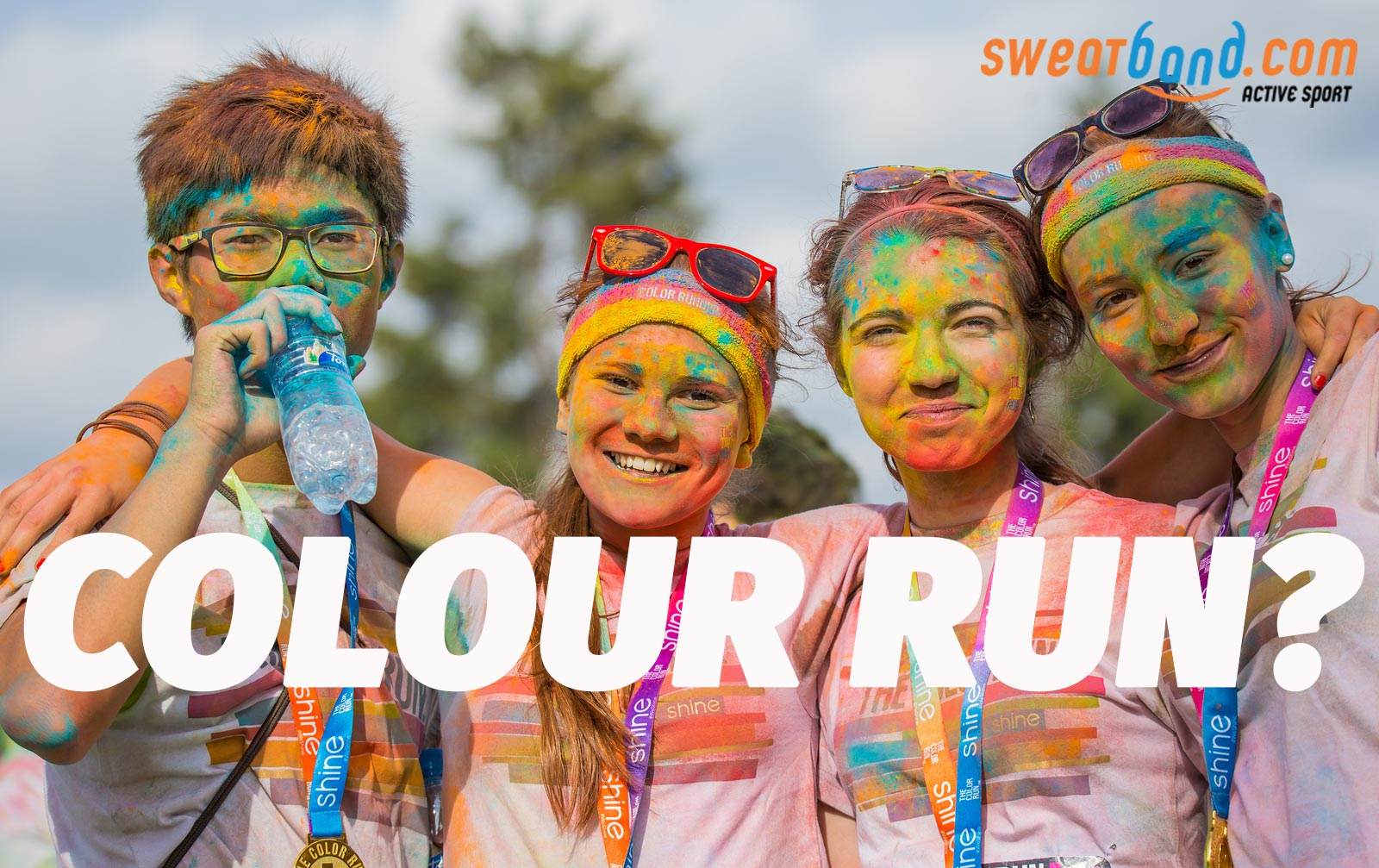 Outdoor exercise events are becoming ever more popular. Will you try one out in 2016? How cool does a colour run look!