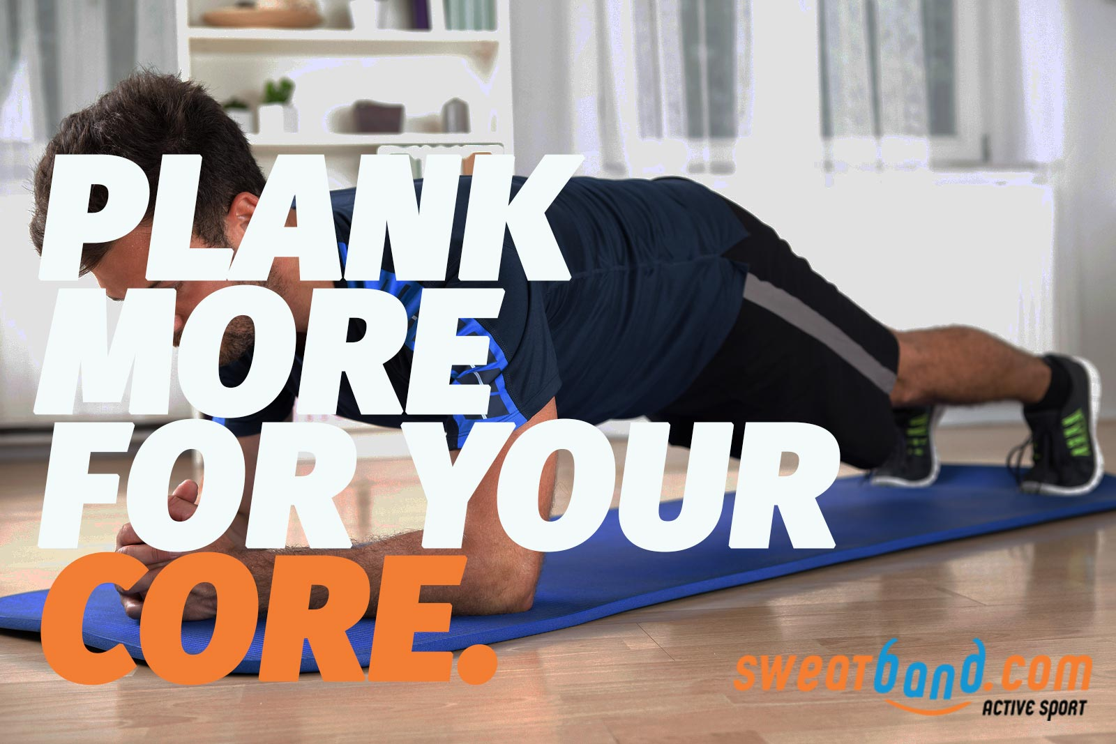 Plank more for a stronger core