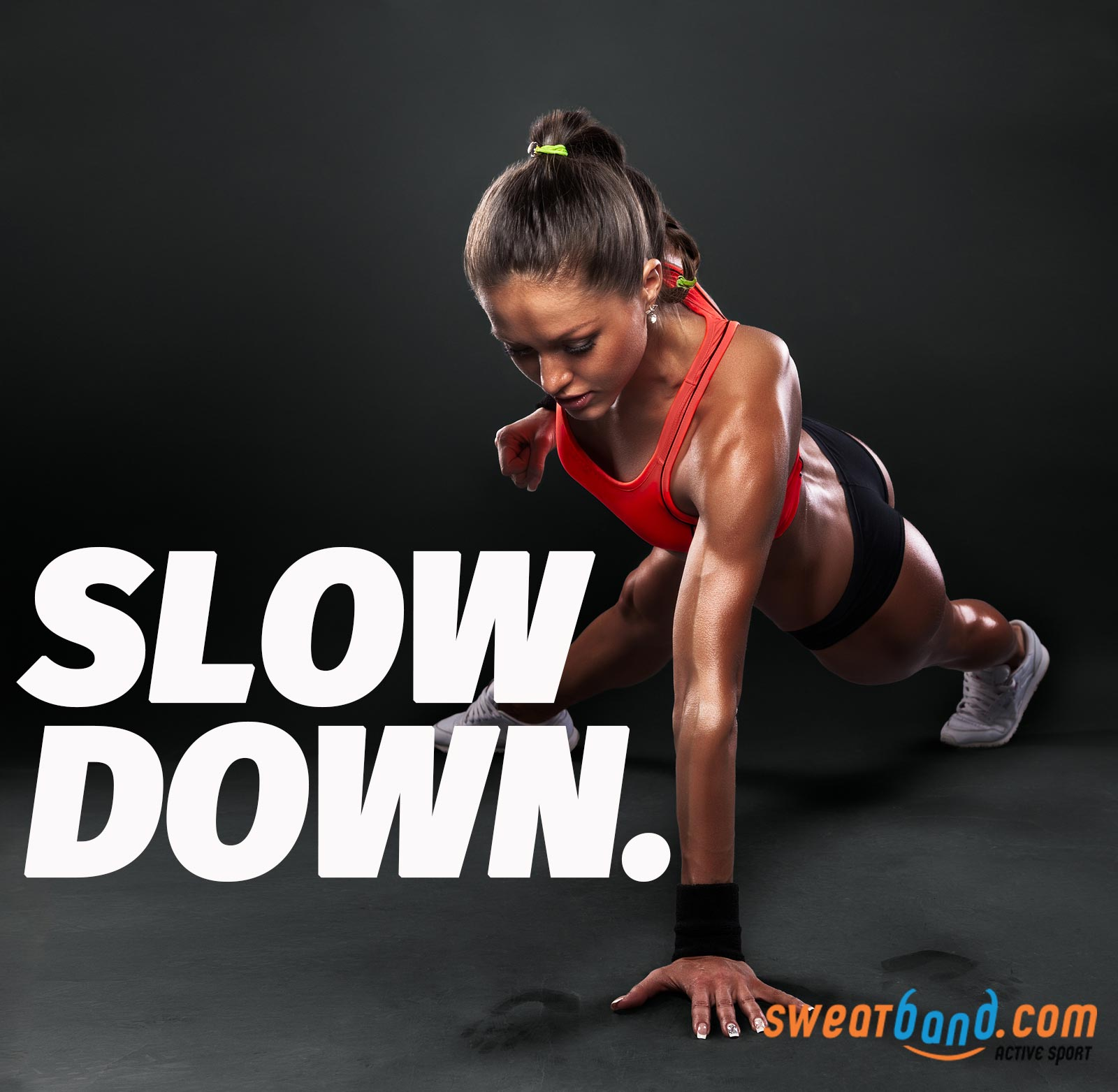 Slow down your reps and see the difference it makes to the effectiveness of your workouts.
