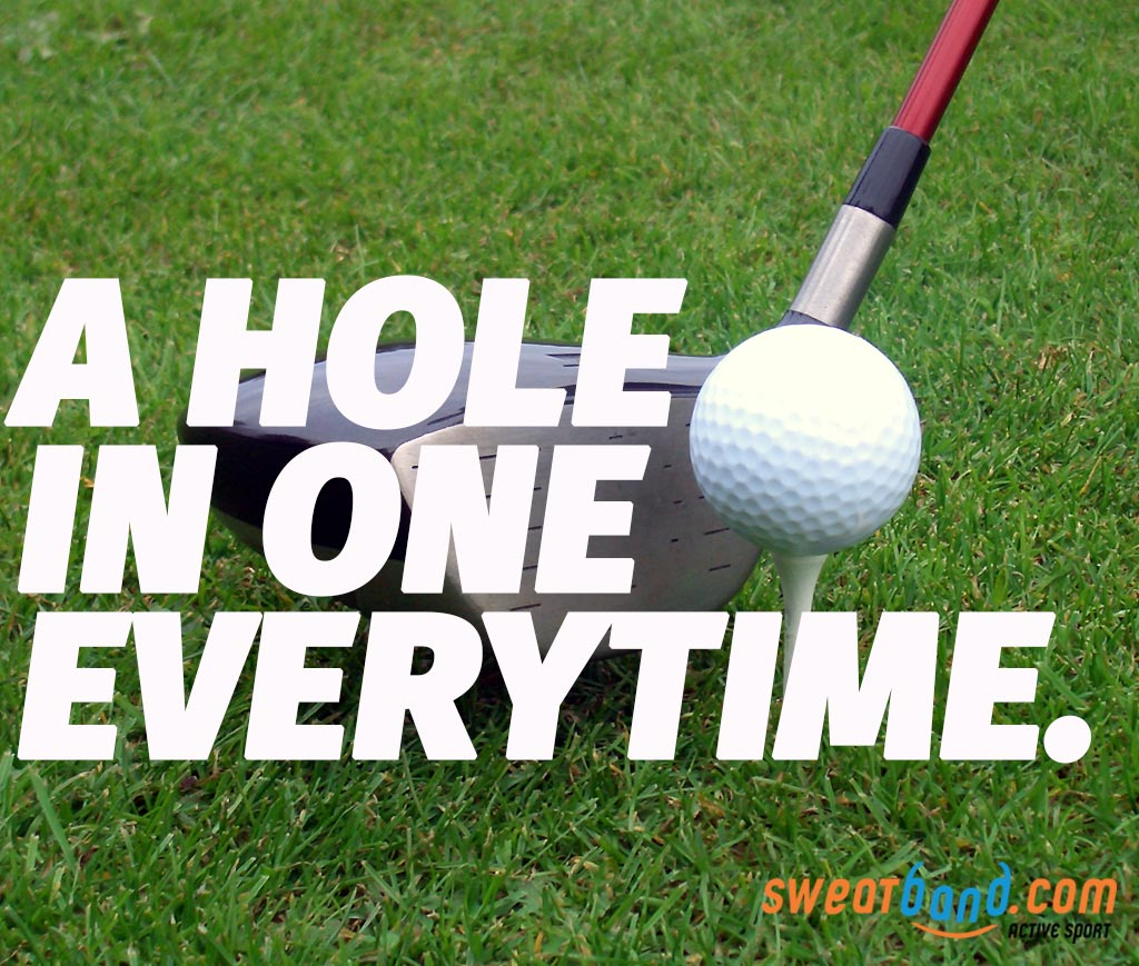Get the perfect round with our own exclusive Hole In One golf club