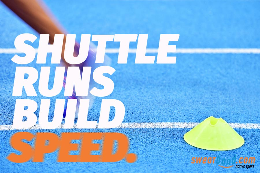 Use shuttle runs to build your speed and improve your badminton play
