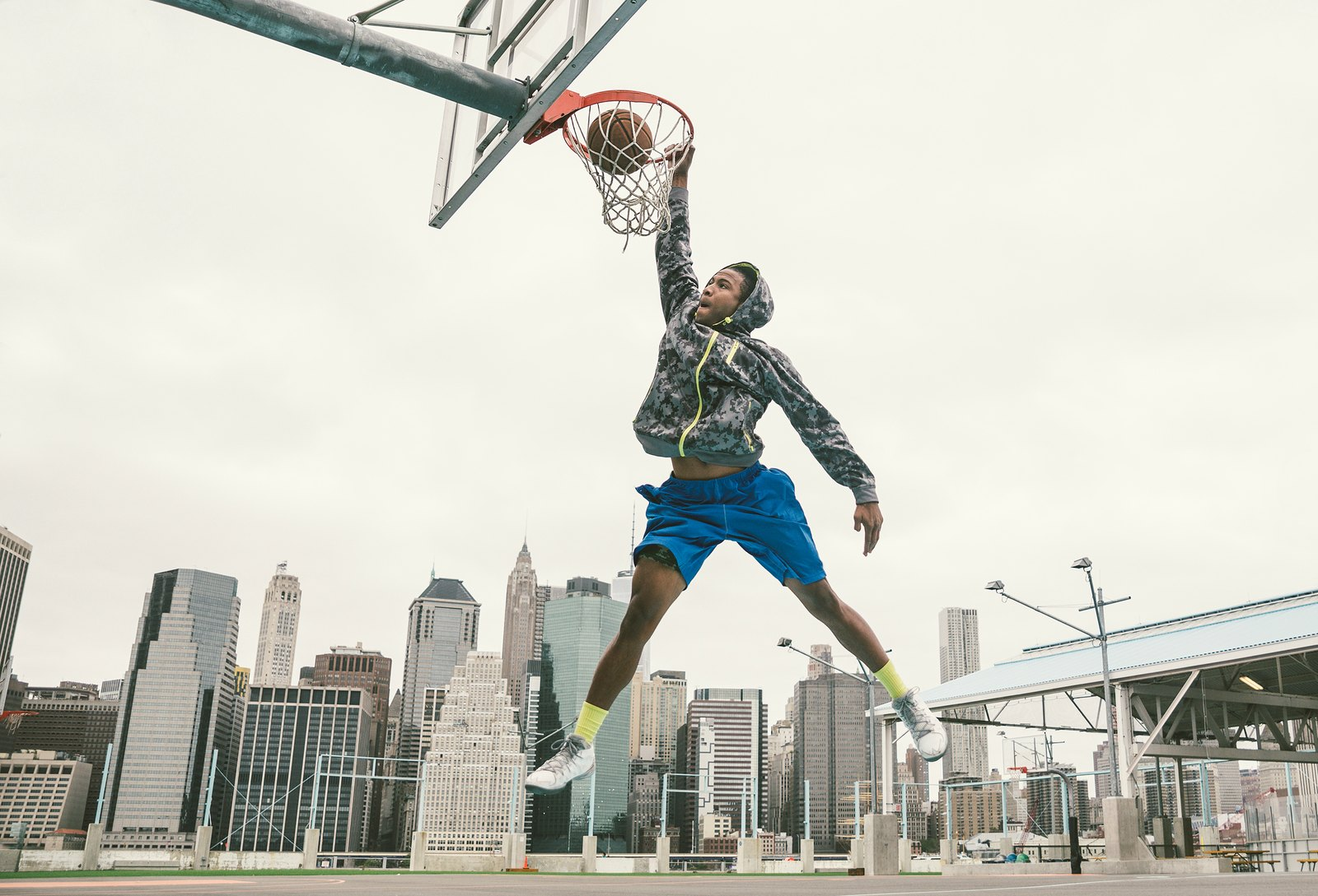 Get Playing Basketball and Slam Dunking With Friends and Burn Off Some Calories
