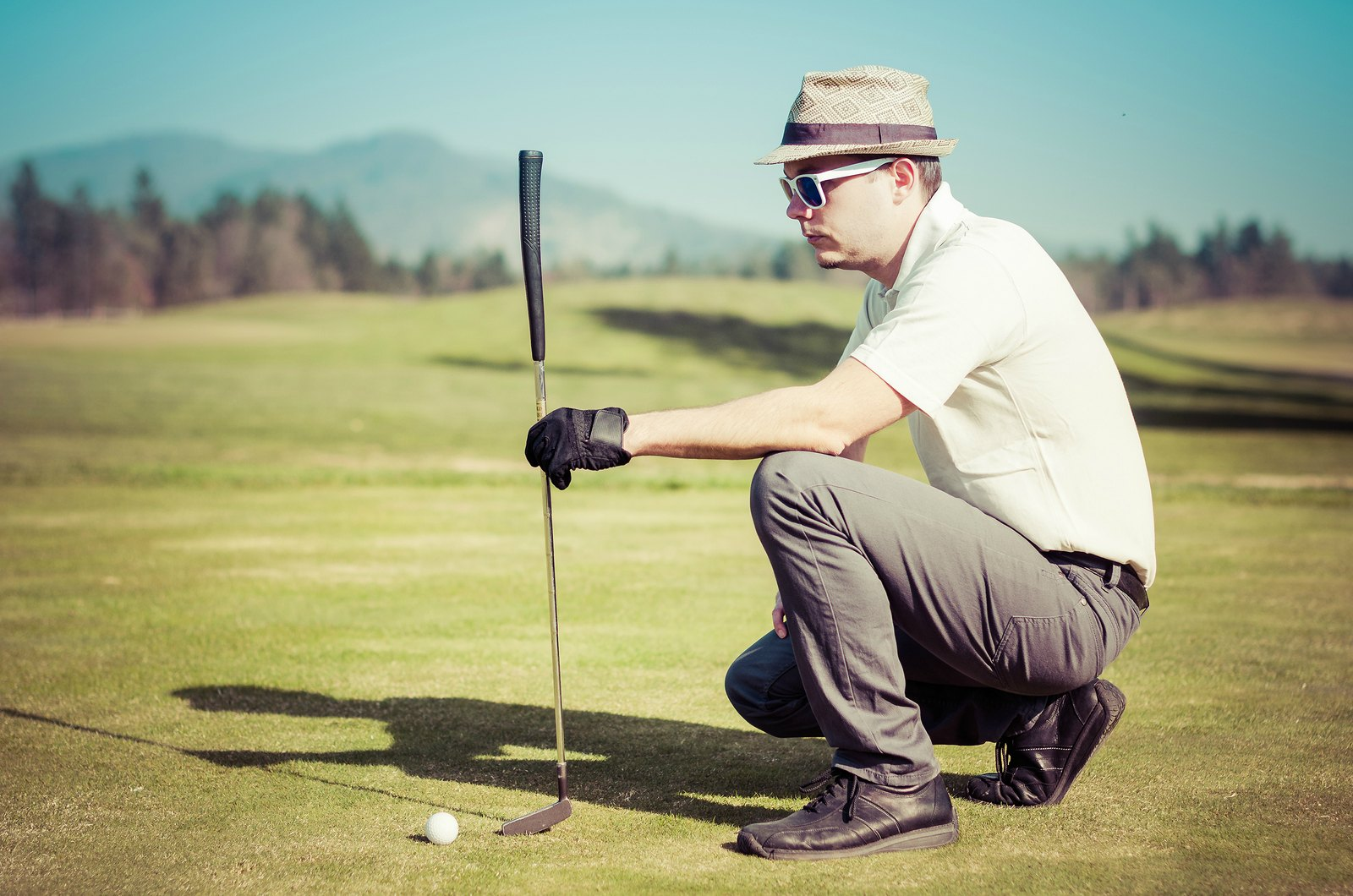 Golf is a great alternative to gym workouts - 18 holes can burn over 800 calories!