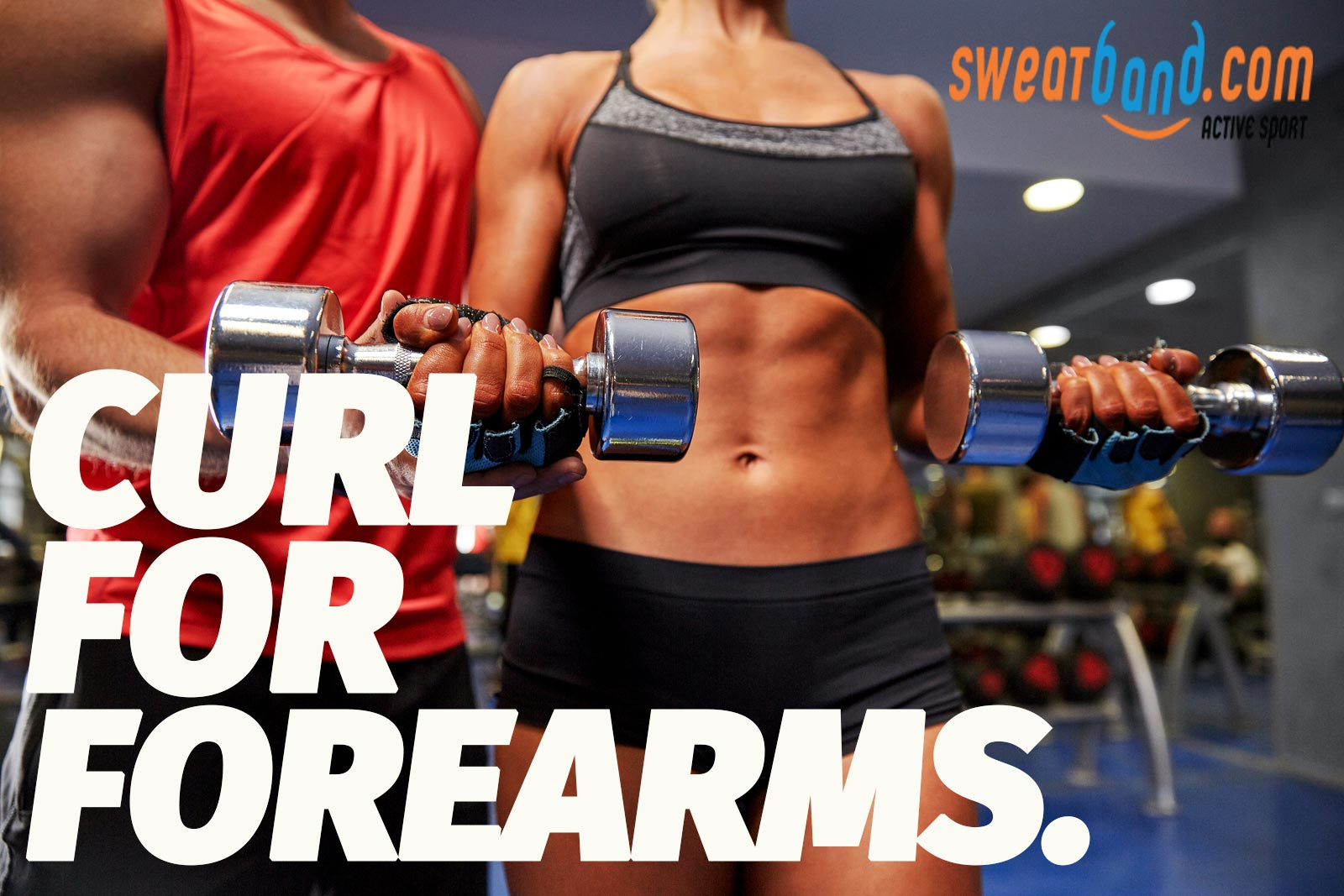 Try some simple wrist curls to increase your forearm strength