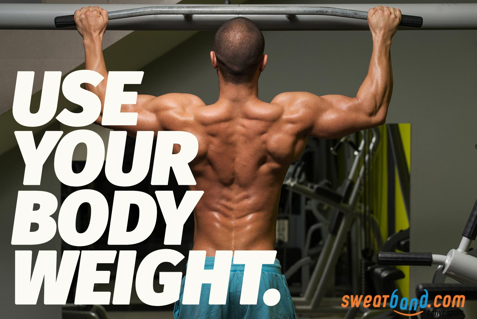 Don't fancy weights? You can use your body weight to build up strength in your arms