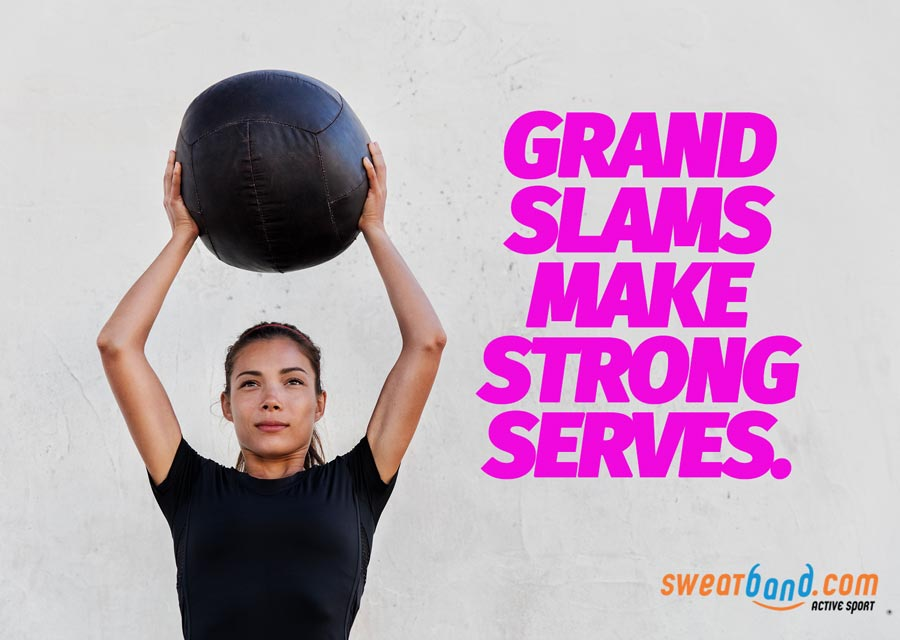 Any tennis player can do Grand Slams to improve their strength!