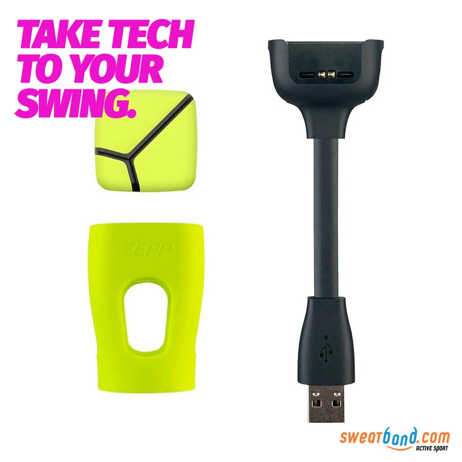 The Zepp Tennis Swing Anaylser lets you get a real insight into your on-court performance and enhance your game