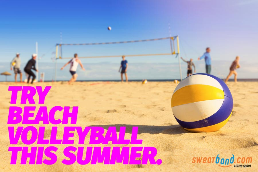 Give beach volleyball a go and feel like an Olympian!