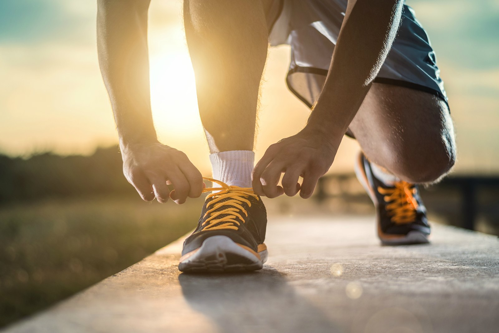 Barefoot Running? Study Finds Running Shoes Build Muscle