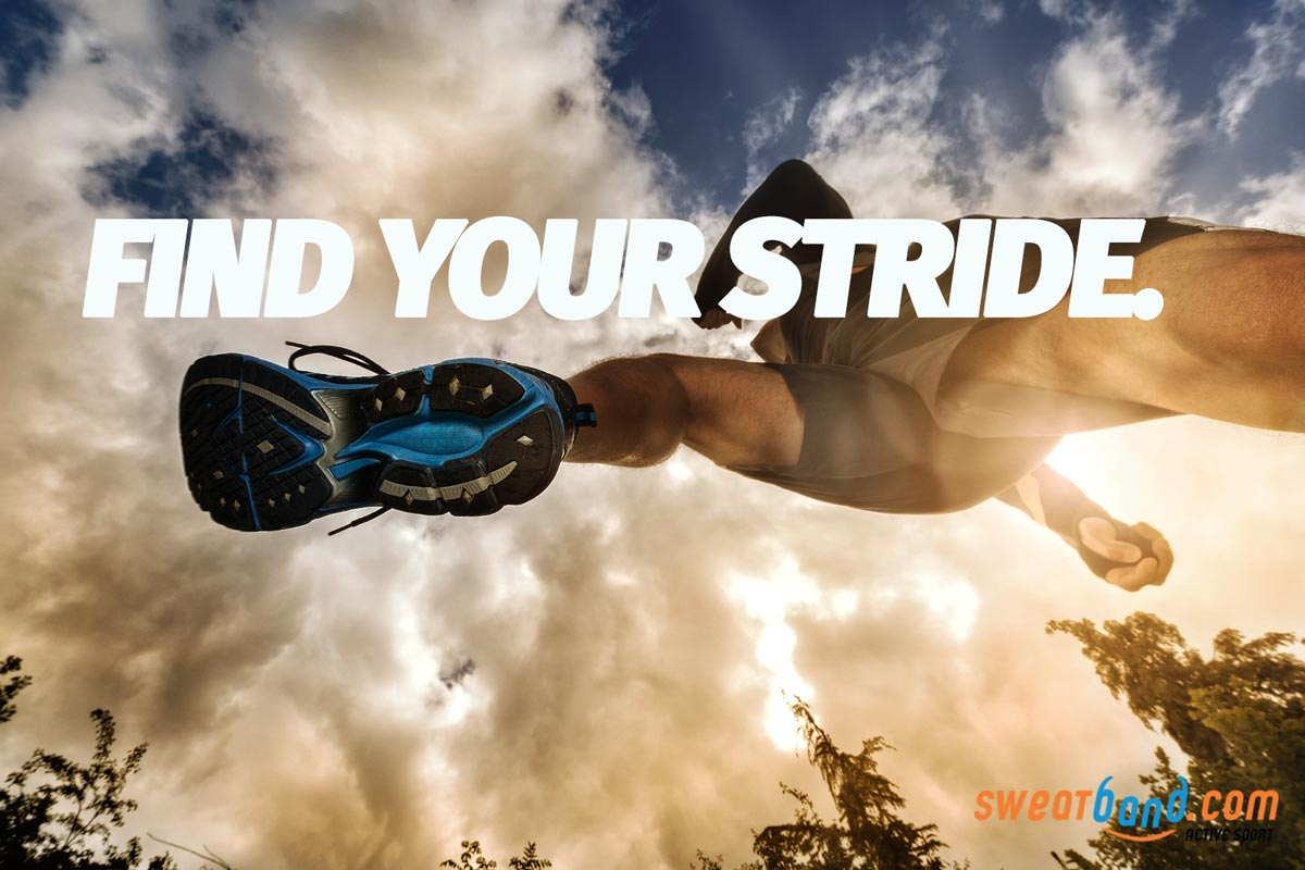 Find your natural and comfortable stride, and remember shorts steps are often better than long ones