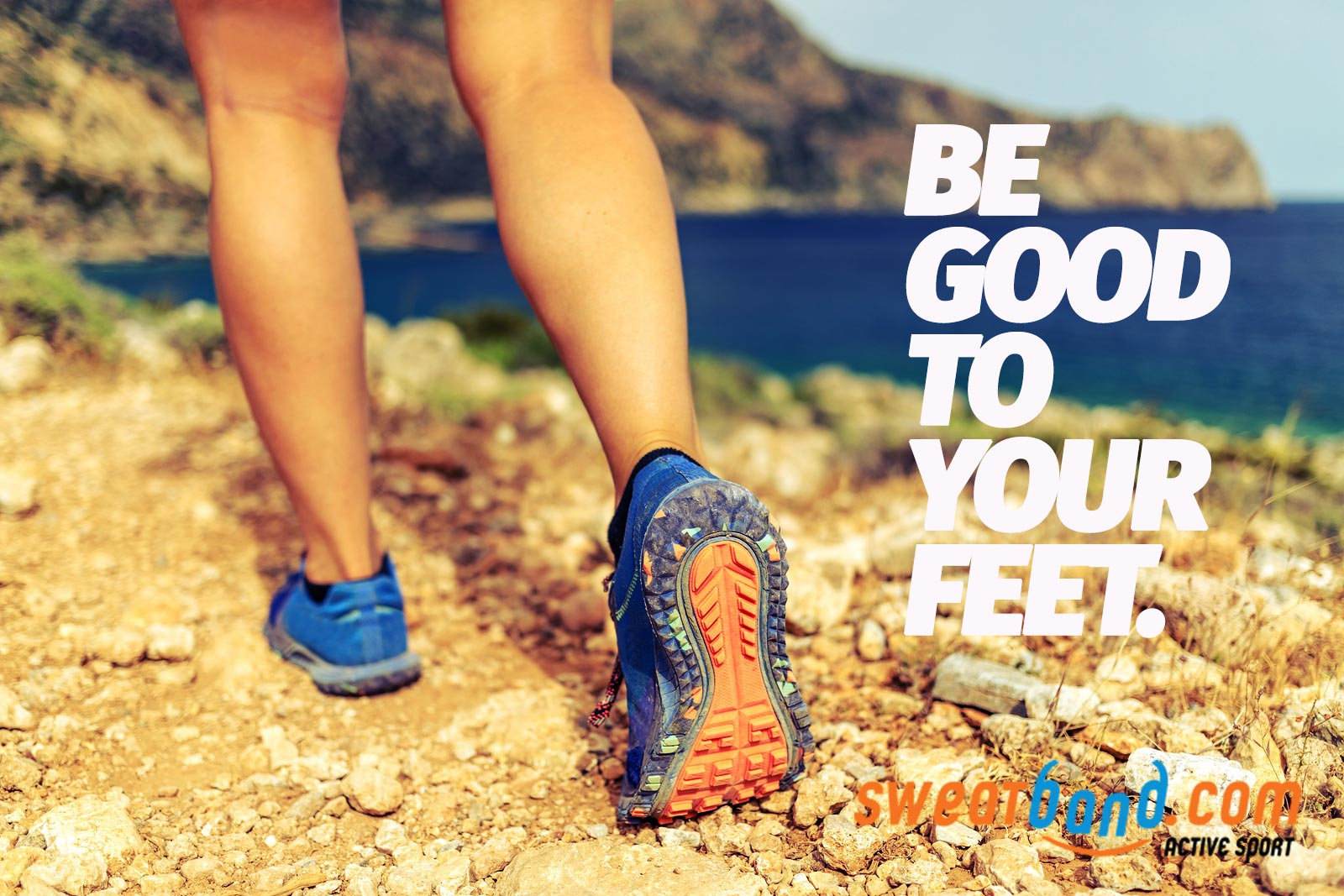 Be good to your feet no matter what sport you play or fitness training you do.