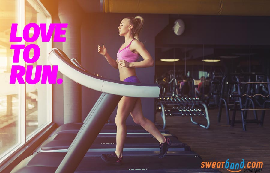 Love to run, love your treadmill