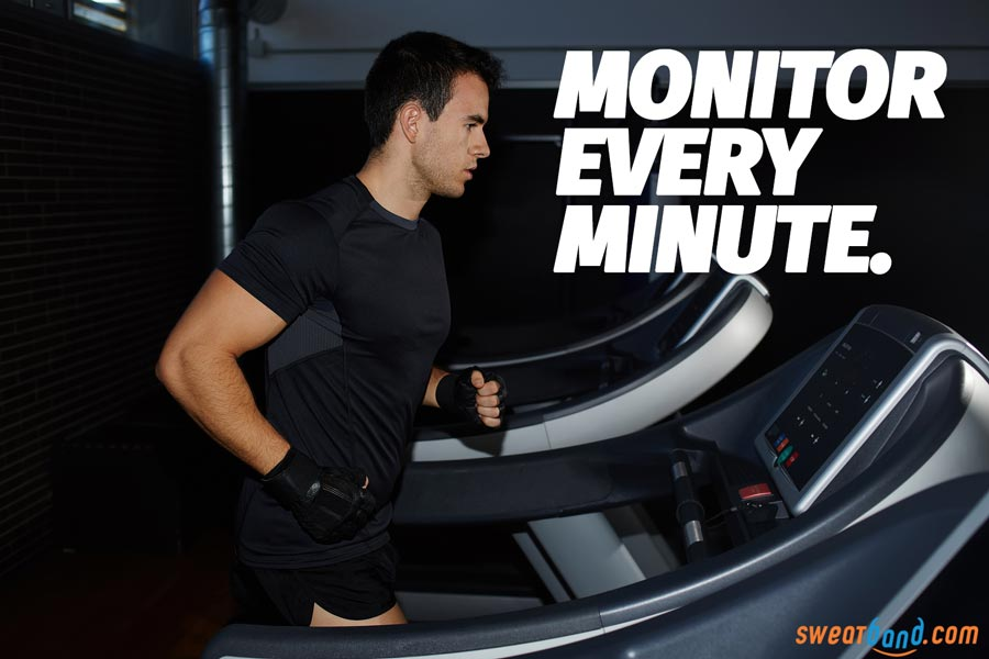 Monitor every minute of your running on a treadmill