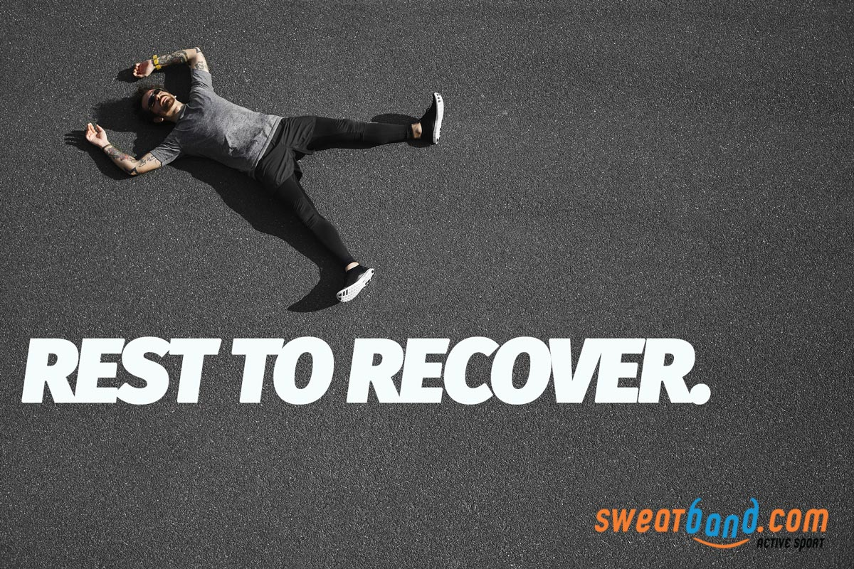 Don't overdo your training. Rest days are as important as training days!
