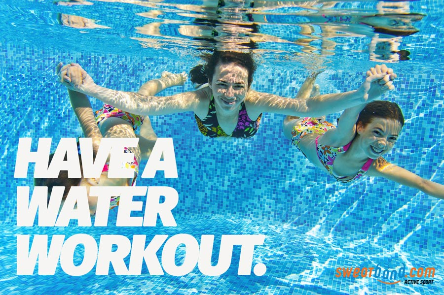 Take to the water this summer with the family to keep fit!