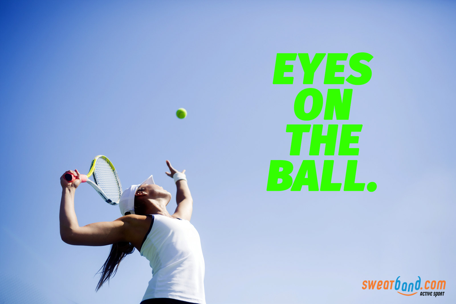 Keep your eyes on the ball and take your game to the next level